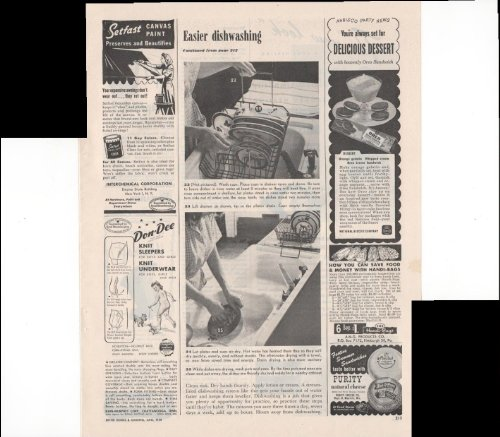 - Oreo Nabisco National Biscuit Company Dessert Recipes 1948 Vintage Antique Advertisement