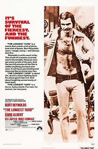 Posterazzi The Longest Yard Us Art Burt Reynolds 1974 Movie Masterprint Poster Print, (11 x 17) (Longest Yard Poster)