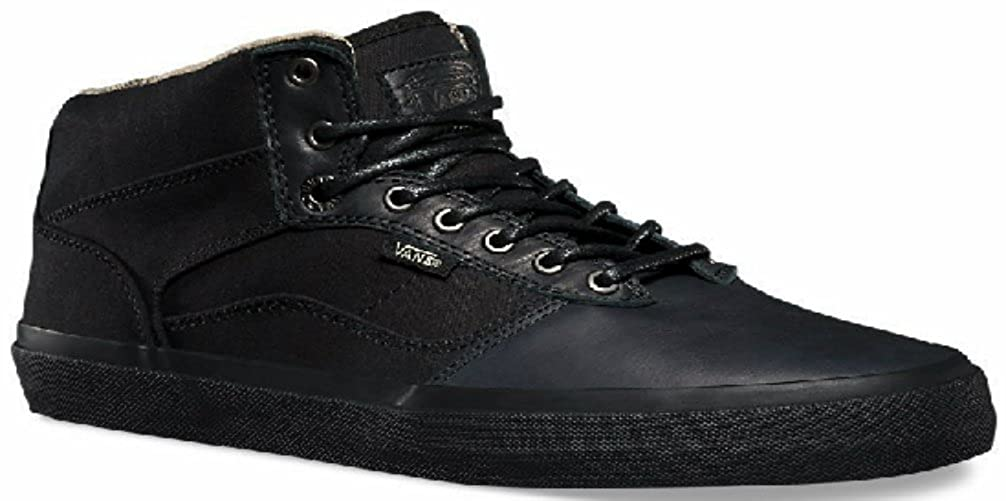 527f92a59c787 Amazon.com | Vans BEDFORD Fish Bones Black/Black Men's Shoes (8.5 D ...
