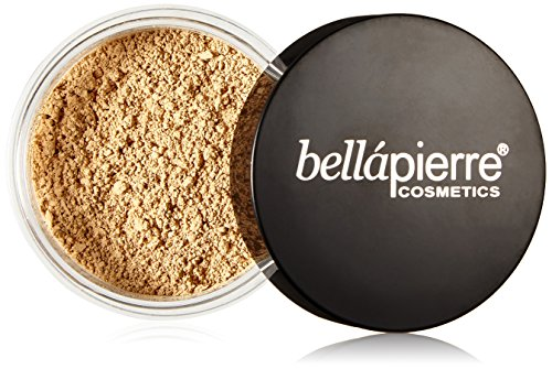 - Bella Pierre Mineral Foundation, Cinnamon, 0.3-Ounce