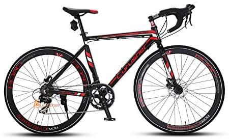 XC760 Cyrusher Mans Races Road Bike 52cm Aluminium Frame Tourney ST-A070 Shifting System 14 Speeds Disc Brakes