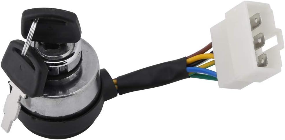 1pcs 5kw New  Gasonline Petrol Generator 188 190 Ignition Key Switch 6 Wire key
