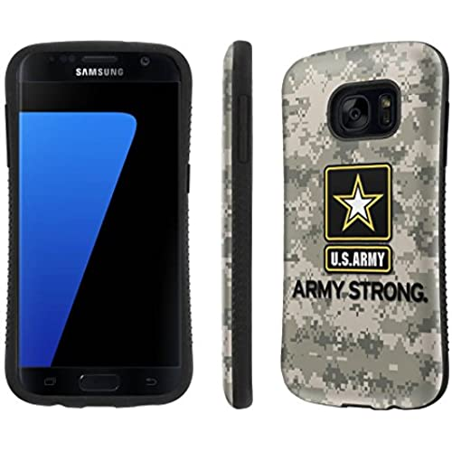 Galaxy [S7] Tough Designer Case [SlickCandy] [Black Bumper] Ultra Shock Absorbent - [Army Strong Camo] for Samsung Galaxy S7 / GS7 Sales