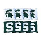 #2: 8 Michigan State Spartans Regulation Corn Filled Cornhole Bags