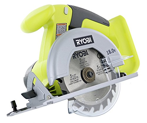 Ryobi P825 18V One+ Cordless Lithium Ion Power Tool Starter Kit (Includes 1/2'' Drill / Driver, 5 1/2'' Circular Saw, Compact Battery, Charger, and Contractor's Bag) by Ryobi (Image #2)