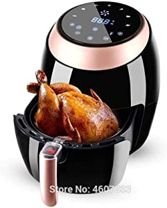 BLLXMX Power Air Fryer Air Fryer Electric Hot Air Fryers Oven & Oilless Cooker for Roasting, LED Digital Touchscreen with Nonstick Basket