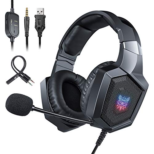 🥇 ONIKUMA Auriculares Gaming PS4 Xbox One
