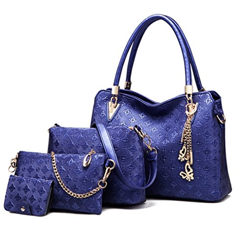 Unknown, Borsa a mano donna M Dark Blue