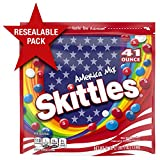 SKITTLES America Mix Red, White & Blue Patriotic Candy, 41-Ounce Party Size Bag