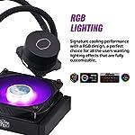 Cooler-Master-MasterLiquid-ML120L-V2-RGB-CPU-Liquid-Cooler-Brighter-Lighting-Effects-3rd-Gen-Pump-Superior-Radiator-and-Advanced-120-mm-SickleFlow-Fan-Black