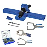 Kreg K5 Pocket-Hole Jig w/ Screw Kit and 3 Piece Clamp Set
