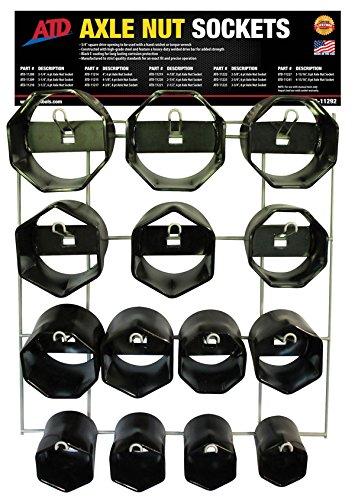 ATD Tools 14 Pc. Axle Nut Socket Display