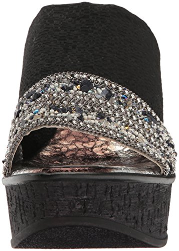 Women's Love Black Sally amp; Wedge Sandal Liberty Ll qqEfxU6