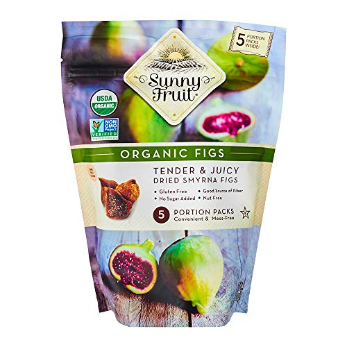 (Sunny Fruit Organic Figs, Organic Figs Tender and Juicy Dried Smyrna Figs)
