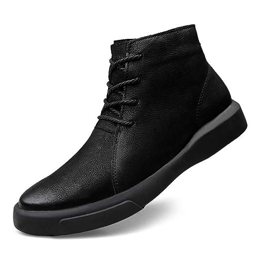 HILOTU Botas de Nieve de Senderismo para Hombre Zapatos ...