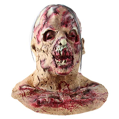 Halloween Costume Party Mask Horror of the Zombie Mask Decaying Zombie Mask, TLT Retail -