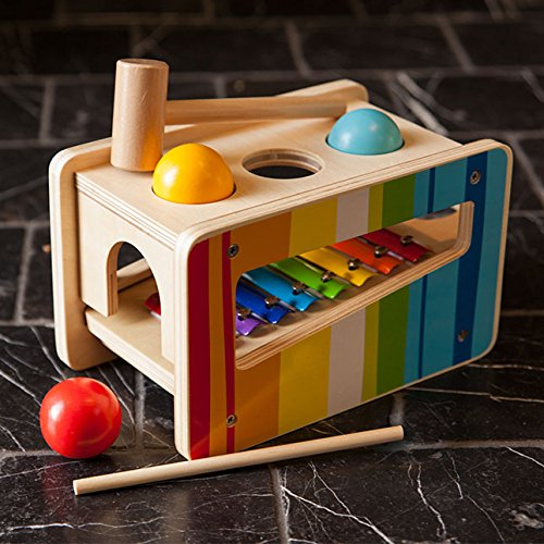 Fat Brain Toys Pound Tap Bench - My Little Mozart Musical Bench