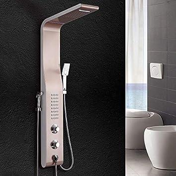 KaO0YaN-Shower Acero Inoxidable Mampara De Ducha Set De Ducha ...