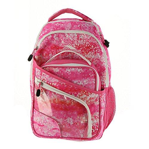 High Sierra Wiggie Lunch Kit Backpack, Effervescent/Pink Lemonade/White -