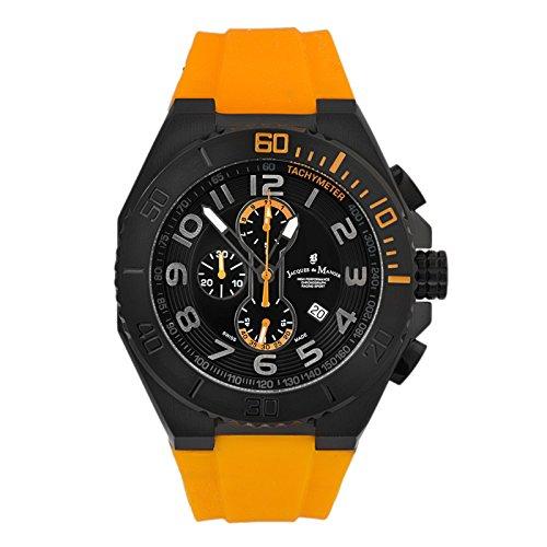 Jacques DU Manoir Men's Racing Sport Swiss Made Chronograph Watch SPO.2 ()