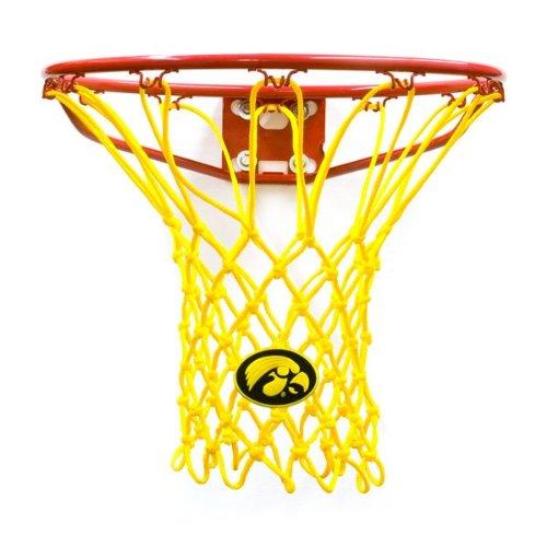 アイオワ大学バスケットボールNetでブラックまたはゴールデンイエロー B00O1434SG ブラック