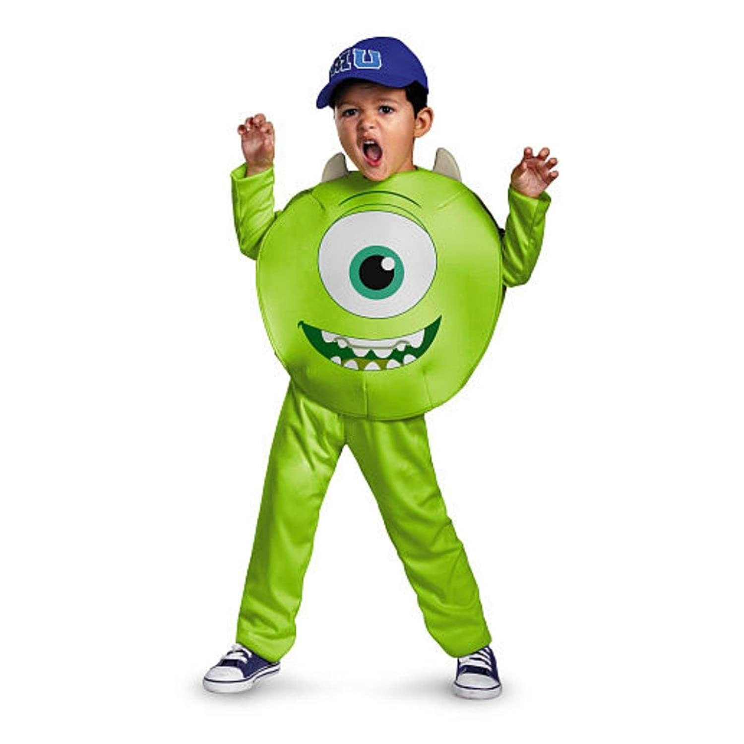 amazoncom monsters university toddler boys green mike costume monster inc clothing - Halloween Costume Monster
