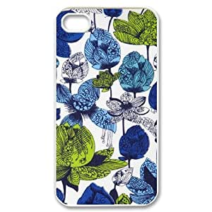Floral Patterns iPhone 4/4s Case White Yearinspace942910 Kimberly Kurzendoerfer