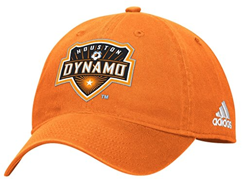 wholesale dealer 97e2b 03404 adidas Houston Dynamo MLS Team Basics Slouch Adjustable Hat - Orange