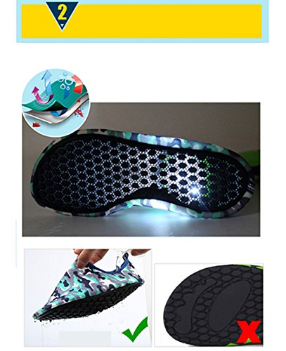 amp; Scuba For Juleya Water Shoes Yoga Running Beach Women Diving Snorkeling Socks Men Adult Shoes 4 Swim Barefoot Swimming xOwrAn8aOH