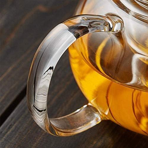 Verdikte Glazen Kan Filter Hittebestendige Glazen Theepot Koude Waterkoker Hittebestendige Gezondheid Pot 800 ml