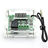 E-outstanding Temperature Controller DC 12V Digital Cooling/Heating Temp Thermostat -50-100 Degree Controlled Switch Module W1209 + Acrylic Box