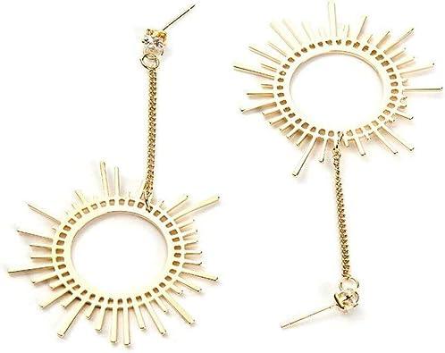 PRE-ORDER Gold Asymetrical Dangle Earring