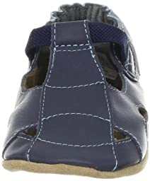 Robeez Fisherman Soft Sole Sandal (Infant),Navy,12-18 Months M US Infant
