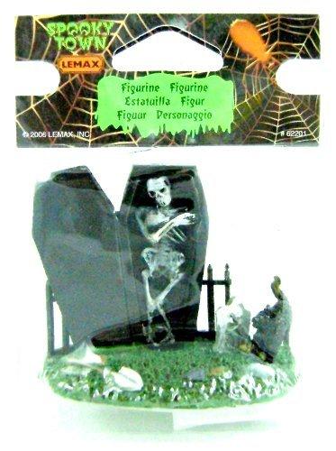 Lemax 62201 SPOOKY GRAVEYARD FIGURE SPOOKY TOWN Halloween Decor Figurine -
