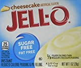 JELL-O Sugar Free Cheesecake Instant Pudding Mix, 6 Count, 6 Ounce