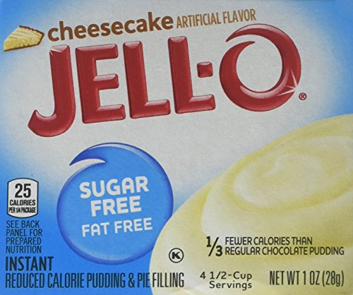 (JELLO Instant Cheesecake Pudding Mix (1oz Boxes, Pack of)