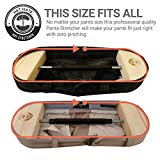 """Pant Stretchers 30"""" to 59"""" - Heavy Duty - Hanger Waistband Stretcher Men Women FREE Button Extender & Recipe Ebook– Instant & Long-Term Stretch for Jeans Pant Skirt Trouser"""