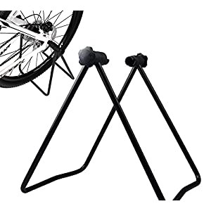 Bike Folding Wheel Rack Kickstand Parking Cycling Stand Repair Holder Stands