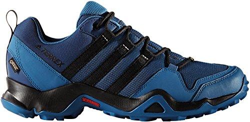 Adidas Terrex Ax2r Gtx, Zapatos de Senderismo para Hombre, Azul (Azubas/Negbas/Azumis), 42 EU