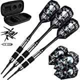 Viper Desperado 80% Tungsten Soft Tip Darts Storage/Travel Case: Death Mark, 18 Grams