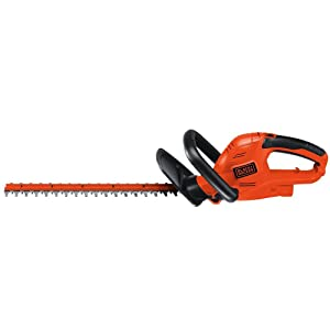 BLACK+DECKER HT20 3.8-Amp Hedge Trimmer, 20-Inch