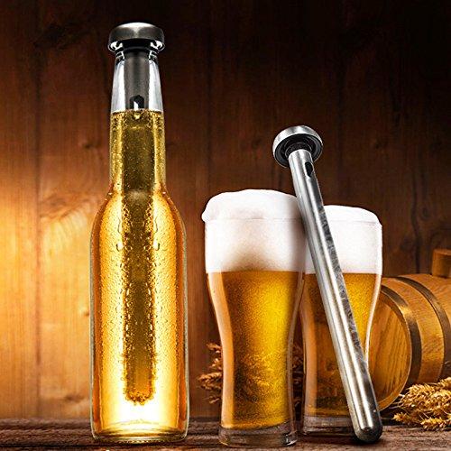 theGizmoMart Magic Stainless Steel Beer Chiller Sticks (2) by theGizmoMart