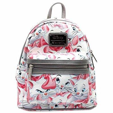 b3ef55cee11 Loungefly X Disney The Aristocats Marie AOP Mini Backpack  Amazon.ca  Shoes    Handbags