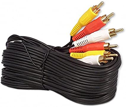 Ultra Gold SUBWOOFER Digital Audio Video Cable 100ft THX AV Home Theater RCA