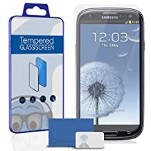 Samsung i9300 Galaxy S3 III Screen Protector TUFF STEALTH Tempered Glass Protective LCD Anti-Scratch Durable