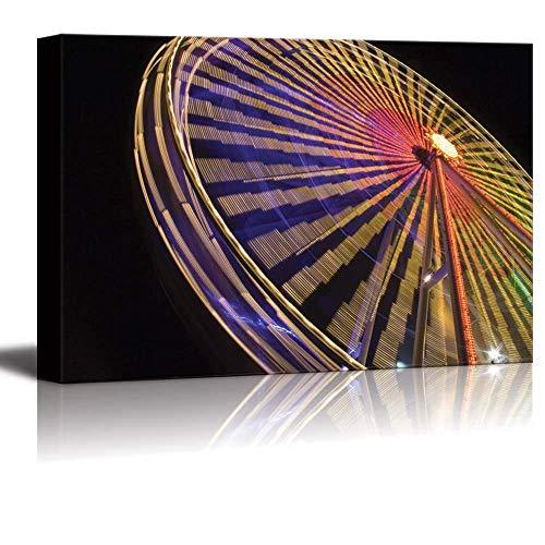 BABE MAPS ウォールアート 絵画 キャンバスプリント カラフルな抽象画の水彩画バナー ベクター イラスト キャンバスプリント 枠張り ホームオフィスの装飾用 24`x36` LTT20180914BMYHOPCJ-W26YHOP30982-BMSの商品画像