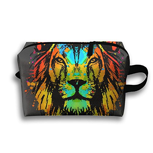 Price comparison product image Rasta Lion Travel Cosmetic Makeup Storage Pouch Bag