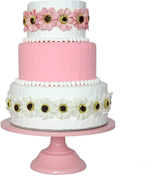 Awe Inspiring Amazon Com Cake Plate Botitu 12 Inch Round Cake Holder With Birthday Cards Printable Trancafe Filternl