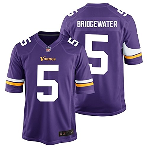 Teddy Bridgewater Minnesota Viking NFL Youth Purple Nike Home Game Day Replica Jersey (Youth Small)