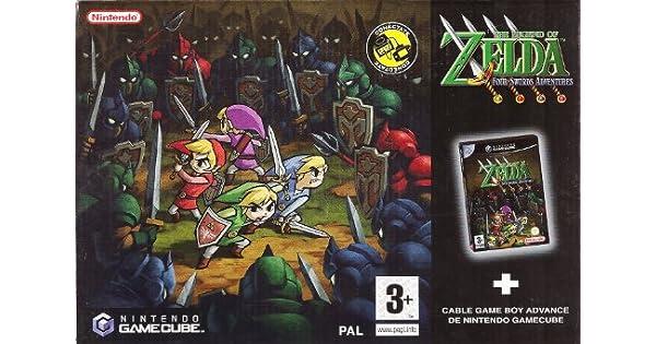 The Legend of Zelda Four Swords Adventures [GAMECUBE ...